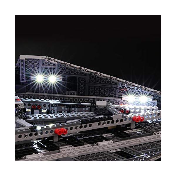 BRIKSMAX Kit di Illuminazione a LED per Lego Star Wars Imperial Star Destroyer, Compatibile con Il Modello Lego 75055… 4 spesavip