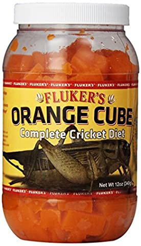 Fluker Labs SFK71301 orange Cube Komplette Cricket Diet