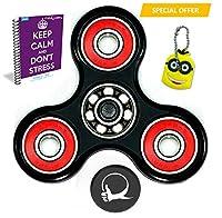 Primer molestar Spin ansiedad Con el bono de juguetes Atención Toy eBook incluido (Inglés) - Perfecto para agregar, ADHD, autismo alivia el estrés y la ansiedad y relajarse para niños y adultos de fabquality