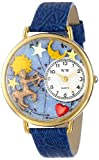 Whimsical Watches Unisex G1810010 Sagittarius Royal Blue Leather Watch best price on Amazon @ Rs. 1697