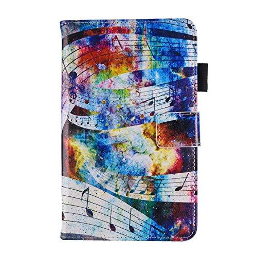 HereMore Samsung Galaxy Tab 3 7.0 Lite T110 T111 T113 T116 Hülle, Slim Schutzhülle Tasche Case mit Stifthalter und Standfunktion für Galaxy Tab 3 Lite 7 Zoll