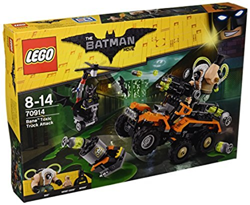 LEGO The Batman Movie 70914 - der Gifttruck von Bane, Bausteinspielzeug