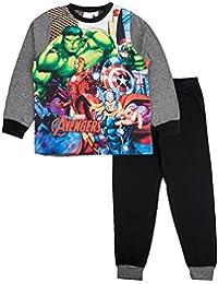 Marvel Avengers Boys Full Length Pyjama Set 3-10 Years
