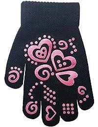 Children's Heart and Butterfly Design Magic Gripper Gloves