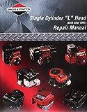 Briggs and Stratton 280522 - Manuale riparazione per rasaerba con motore a cilindro singolo, testa a L