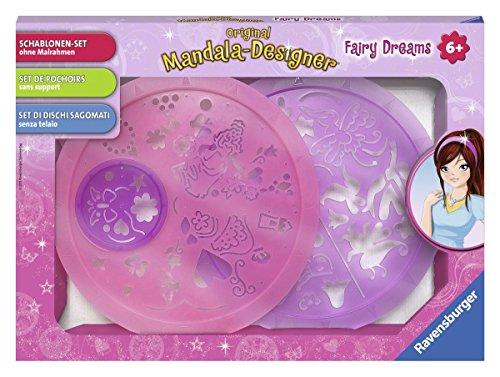 Ravensburger 29882 - Schablonen-Set Fairy Dreams - Mandala-Designer -