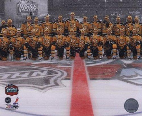 Winter Classic Foto (Die Boston Bruins Mannschaft Foto 2010 NHL Winter Classic Photo Print (25,40 x 20,32 cm))