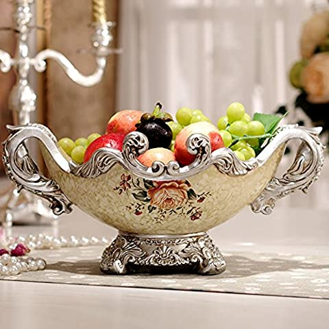 European-style Palace vintage fruit bowl/ dried fruit/ living room table
