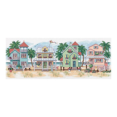 Dimensions (D13726) Counted X Stitch - Seaside Cottages -
