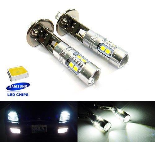2x Luffy H1448Leuchtmittel High Power Samsung LED Projektor Main Tagfahrlicht Nebel Licht Scheinwerfer DRL 20W Weiß