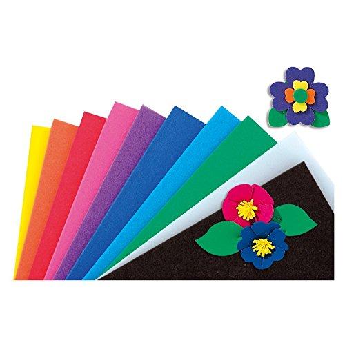 mousse-multicolore-20-x-29-cm-lot-de-10-plaques-