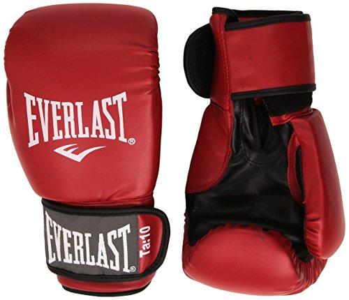 Everlast Rodney - Guantes de boxeo, color rojo, talla 10oz