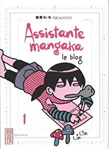 Assistante Mangaka - le blog Edition simple Tome 1