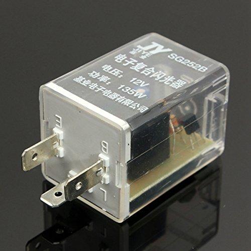Preisvergleich Produktbild ILS - 12V 3 Pin LED Turn Signal Indicatior Light Electronic Flasher Relay