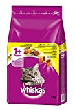 51zW8fUhm%2BL. SL160  - BEST BUY #1 Whiskas 1+ Cat Complete Dry with Chicken, 7 kg Reviews and price compare uk