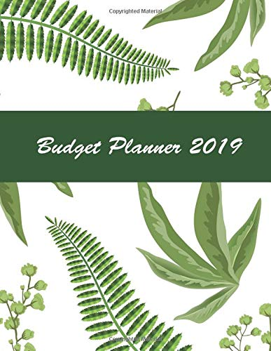Budget Planner 2019: 12-Month and Organizer with Holiday, Monthly Bill Planner and Organizer, Daily Weekly and Monthly, Expenses Tracker and Bills ... (Monthly Bill Organizer and Planner Notebook) por Angel Creations