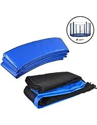 ULTRAPOWER SPORTS Coussin de protection Coussin de Ressorts +Filet de sécurité pour trampoline Kit - Filet et Coussin de Ressorts Trousse (Dimensions à choisir)