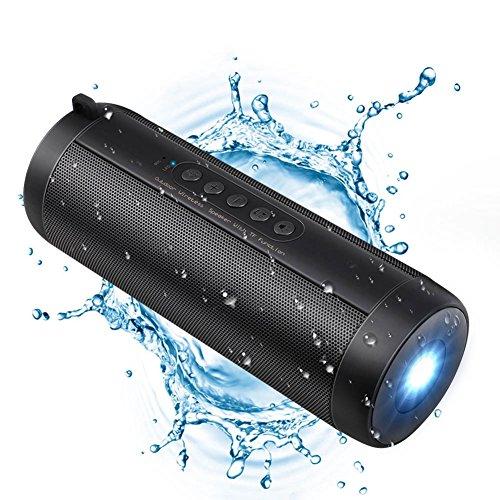 JSGJYX Bluetooth Lautsprecher 1 PSC wasserfester Bluetooth-Lautsprecher Schnurlose Soundbar Subwoofer Lautsprecher Audio für Reisen im Freien Sport