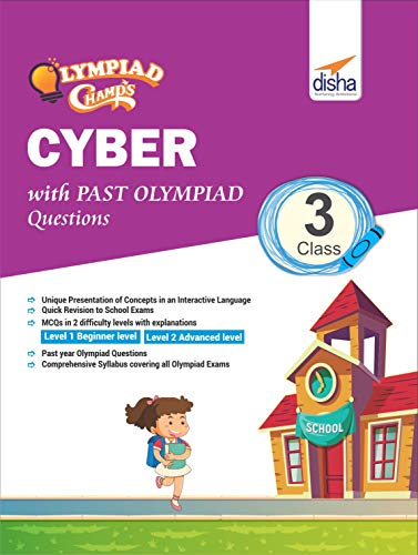 Olympiad Champs Cyber Class 3 with Past Olympiad Questions