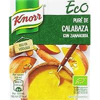 Knorr Eco Puré de Calabaza con Zanahoria - Paquete de 12 x 300 ml - Total: 3600 ml