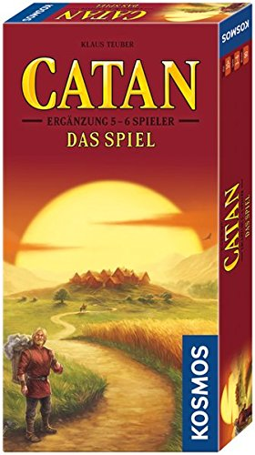 Catan – Ergänzung für 5-6 Spieler, neue Edition