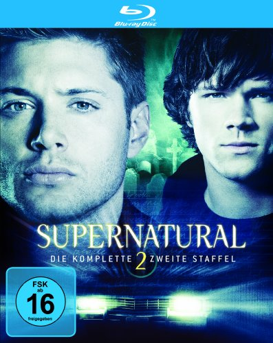 Supernatural: Die komplette zweite Staffel [Blu-ray]
