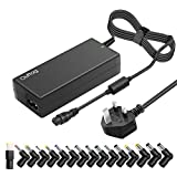 Outtag 90W Universal Laptop Charger 15/16/18.5/19/19.5V/20V Self-regulation AC Adapter Power Supply for HP Dell Toshiba IBM Lenovo Acer ASUS Samsung Sony Fujitsu Gateway