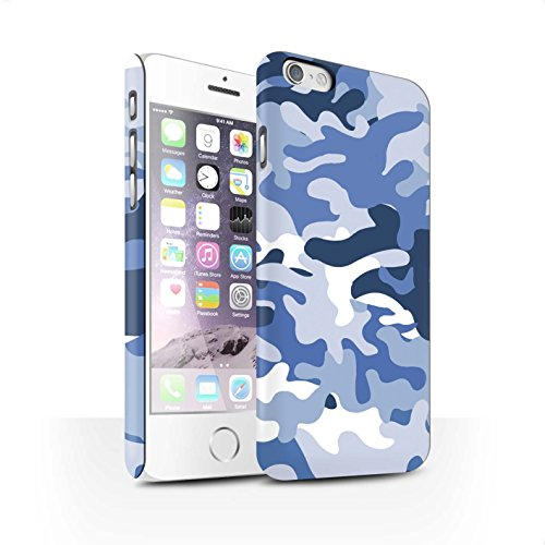 Clipser Matte Coque de Stuff4 / Coque pour Apple iPhone X/10 / Vert 3 Design / Armée/Camouflage Collection Bleue 1