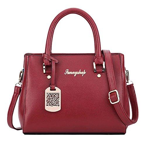 Borse spalla borsa di modo signore sacchetti del messaggero delle donne Blu Blu Bodeaux