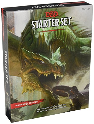 Dungeons & Dragons Starter Set: Fantasy D&D Roleplaying Game 5th Edition (RPG Boxed Game) by Dungeons & Dragons