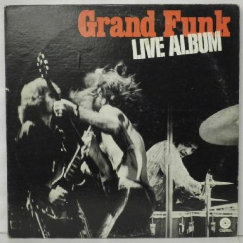GRANDF UNKK RAILROAD LIVE ALBUM DBLE VINYL LP [STDW1]1970