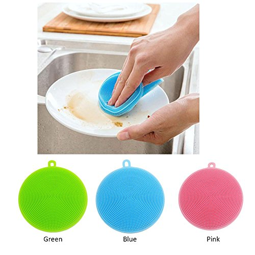 eizur-3pcs-multipurpose-silicone-dishwashing-brush-fruit-washer-vegetable-cleaner-heat-resistant-mat