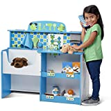 Melissa & Doug Animal Care Veterinarian & Groomer Wooden Activity Center, Role Play Center, Teaches Empathy, Great for Plush Stuffed Pets