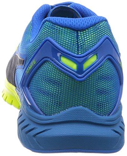 Puma Ignite Dual, Running Mixte Adulte Bleu (Blue/Yellow 02)