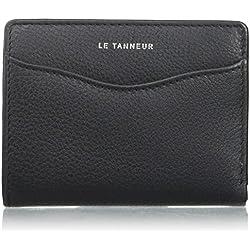 Le Tanneur - RFID TTZ3505 - Valentine Anti - Porte-monnaie - Femme - 2x10x7,5 cm (W x H x L) - Noir (Noir)