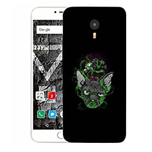Snoogg Abstract Smelling Mouse Designer Protective Back Case Cover For YU YUNICORN