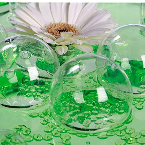 NaDeco Glasblasen zur Dekoration 12 Stück Ø 5cm   Luftblasen aus Glas   Schwimmkugeln aus Glas   Kugeln aus Glas   Klarglas Kugeln   Schwimm Kugeln   Deko Glas   Schwimm Glas   Floating Glass Ball -