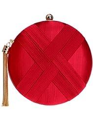 23cb366145e SHISHANG Bolsa de Noche Femenina Bolsa de Fiesta de Lujo de Seda Europeo y Americano  Bolsa
