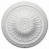 Ekena Millwork CM14AX 15-Inch OD x 2 1/2-Inch ID x 1 3/4-Inch Alexa Ceiling Medallion by Ekena Millwork