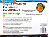 Stendker Frostfutter Sparpaket 10 x GoodHeart SPIRULINA Diskusfutter/Rinderherz 500g Flachtafel