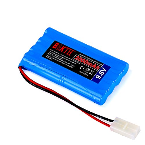 BAKTH 9.6V 2000mAh NiMH RC Akku Racing-Pack