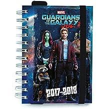 Grupo Erik Editores AGVDP1714 - Agenda escolar 2017/2018 día pagina, diseño Guardians Of The Galaxy