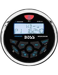 Boss Audio MGR350B Boss Audio Marine AM/FM/BT Receiver Gauge style