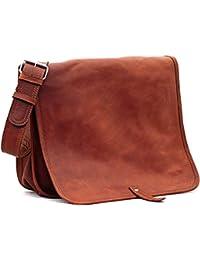 LE MESSAGER (M) cuir sac bandoulière format (A4) PAUL MARIUS