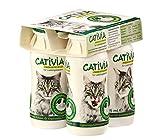 Dehner Cativia, prebiotische Katzenmilch, (4X95ml )