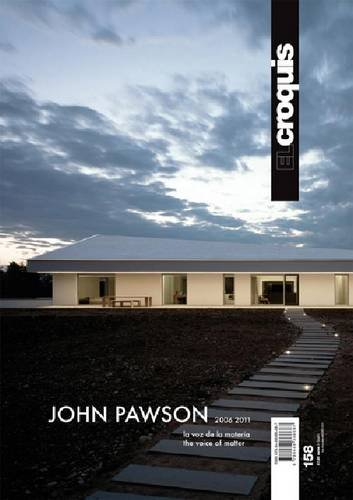 John Pawson. Ediz. inglese e spagnola: Croquis 158 - john pawson 2006-2011 (Revista El Croquis) por Aa.Vv.