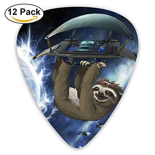 Glider Sloth Galaxy Universe Guitar Pick 12pack
