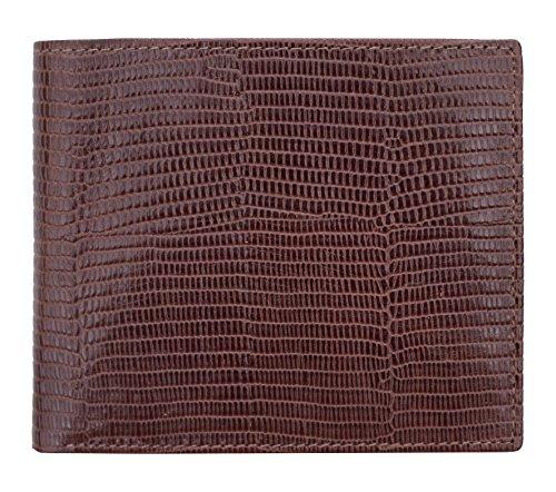 Prime Hide ,  Herren-Geldbörse, braun (braun) - 6616-Brown - Croc Embossed Wallet