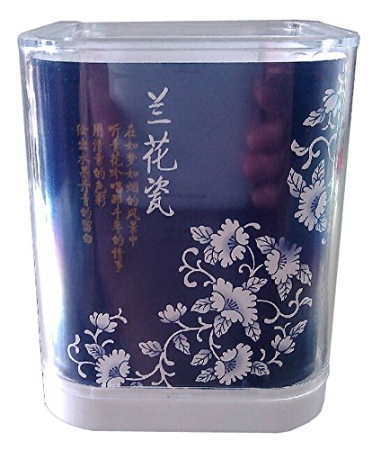 Titulaire porcelaine bleu et blanc Crayon chinois Creative Pencil Holder BLEU