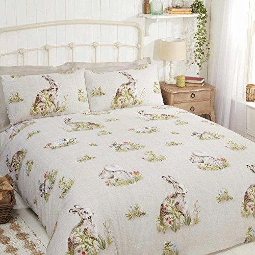 Bedding Heaven COUNTRY BUMPKIN Duvet Cover – Rabbits, squirrels, hedgehogs & hares (Single)